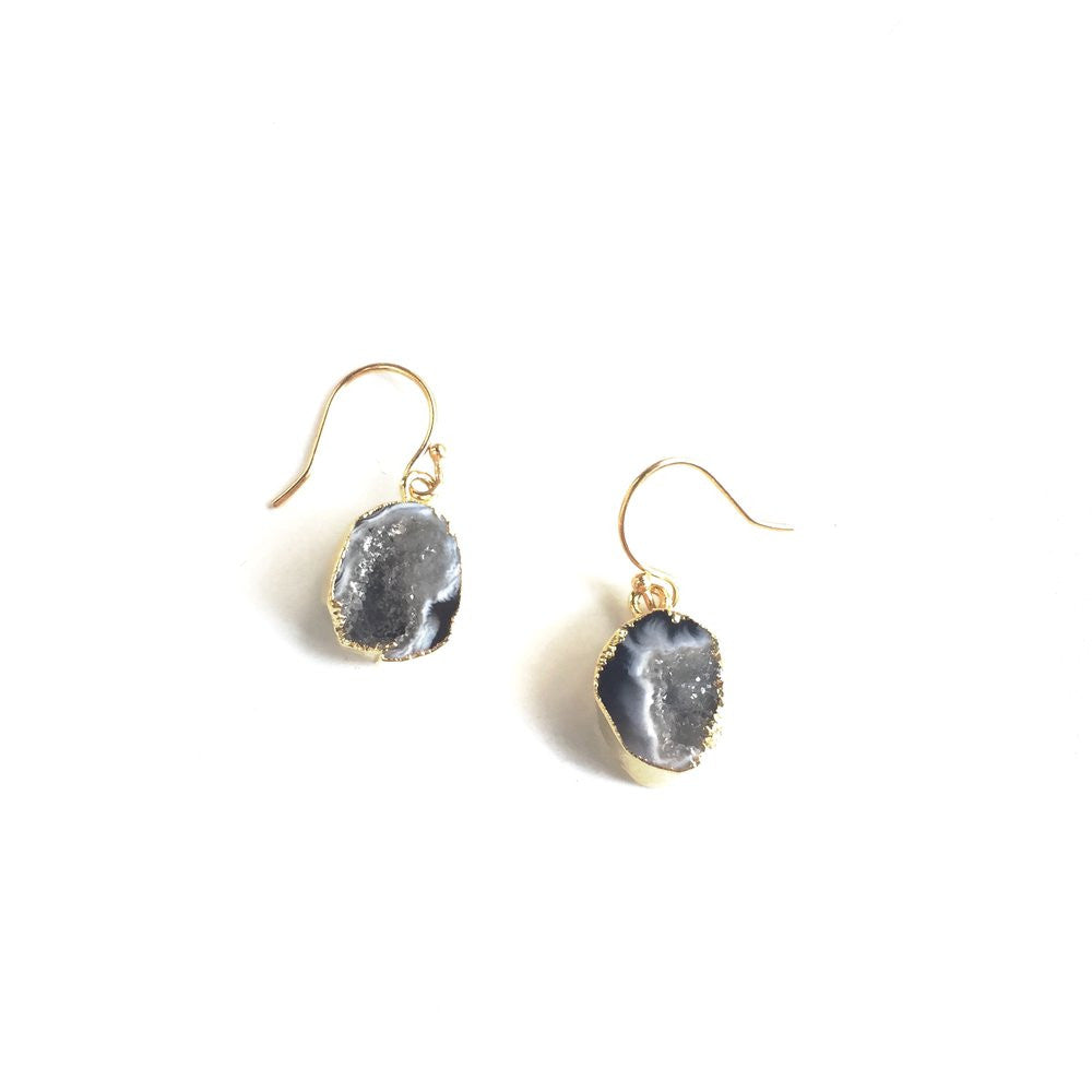 5954 Geode Drop Earrings