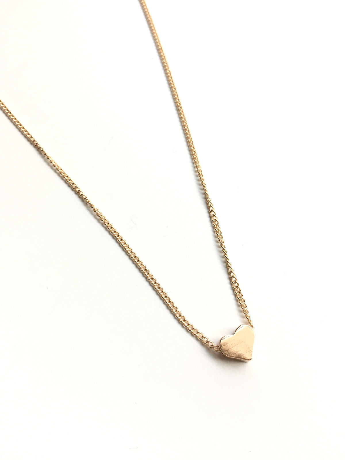 Heart Necklace | 18k Rose Gold Plating | Janna Conner