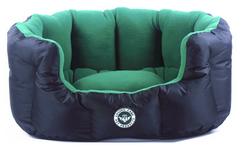 dog bed in green