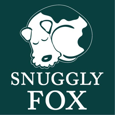 snuggly fox logo on petjam
