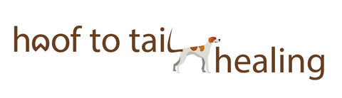 Hoof to Tail healing logo on PetJam