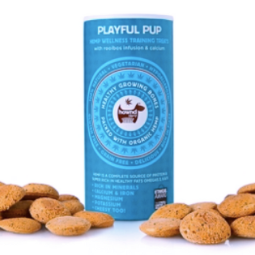 Hownd Playful Pup Hemp Wellness Treats (130g)