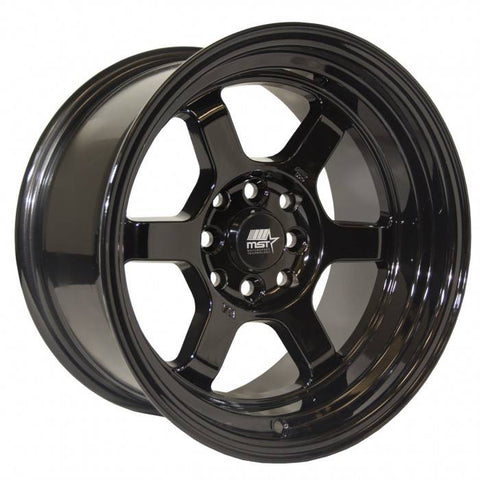 MST Wheels Time Attack Black