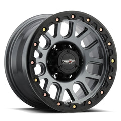 Vision Wheels 111 Nemesis Gunmetal Machined