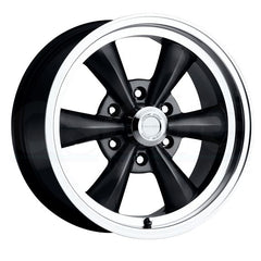 Vision Wheels 141H Legend 6 Black Machined Lip