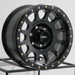 Method Wheels MR305 NV Matte Black