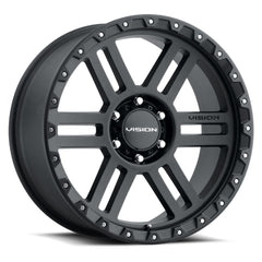 Vision Wheels 354 Manx2 Black