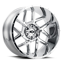 Vision Wheels 360 Sliver Chrome