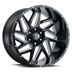 Vision Wheels 361 Spyder Black Milled