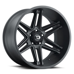 Vision Wheels 363 Razor Satin Black