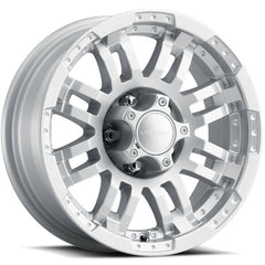 Vision Wheels 375 Warrior Silver