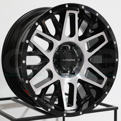 Vision Wheels 388 Shadow Black Machined