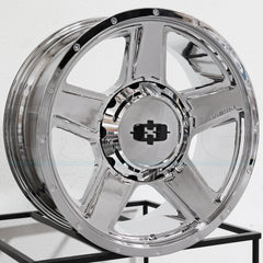 Vision Wheels 390 Empire Chrome