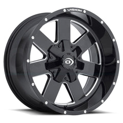 Vision Wheels 411 Arc Black Milled