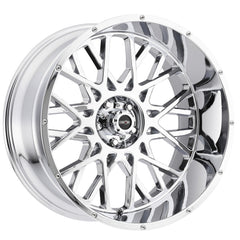 Vision Wheels 412 Rocker Chrome