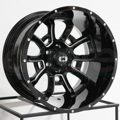 Vision Wheels 415 Bomb Black Milled