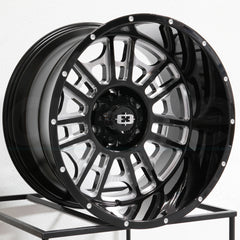 Vision Wheels 418 Widow Black Milled