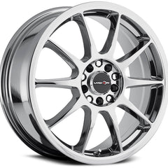 Vision Wheels 425 Bane Chrome