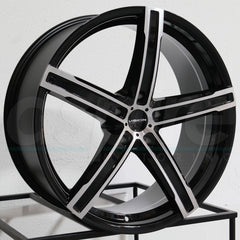Vision Wheels 469 Boost Black Machined