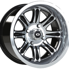 Vision ATV Wheels 547 Spirit Black Machined