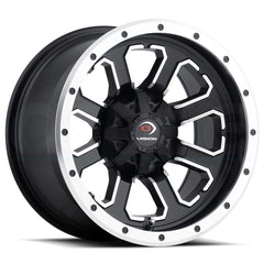 Vision ATV Wheels 548 Commander Black Machined