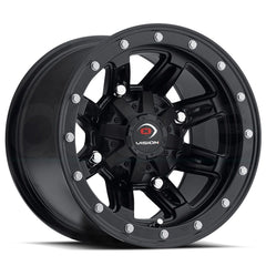 Vision ATV Wheels 550 Five Fifty Matte Black