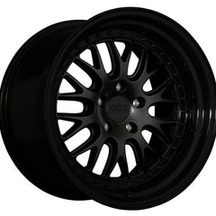 XXR Wheels 570 Flat Black Gloss Black Lip