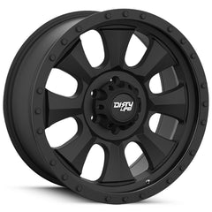 Dirty Life Wheels 9300 Ironman Black
