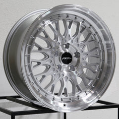 ARC Wheels AR1 Silver Machined