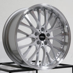 ARC Wheels AR6 Silver Machined