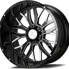 AXE Wheels AX1.0 Gloss Black Milled