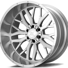 AXE Wheels AX1.1 Silver Brush Milled