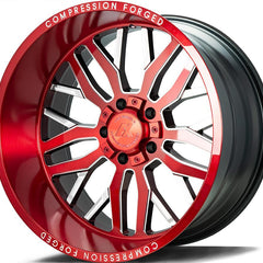 AXE Wheels AX1.2 Candy Red Milled