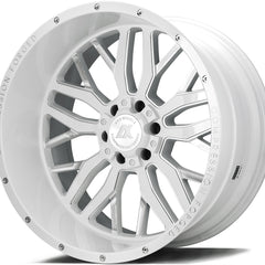 AXE Wheels AX1.3 Gloss White Milled