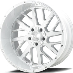 AXE Wheels AX2.3 Gloss White Milled