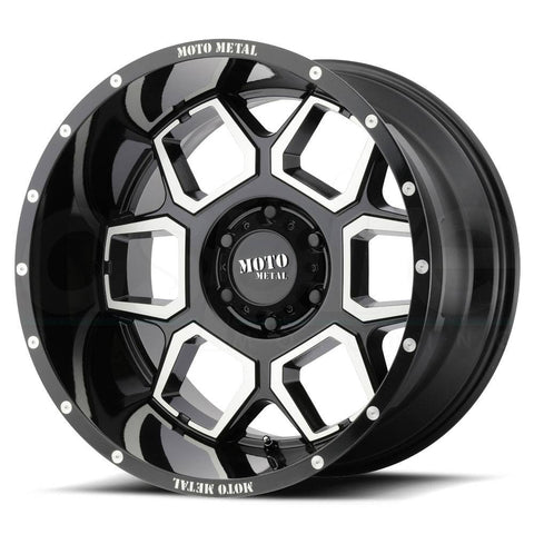 Moto Metal Wheels MO981 Gloss Black Machine