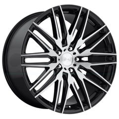 Niche Wheels M165 Anzio Black Machined