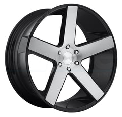 DUB Wheels Baller S217 Black Machined
