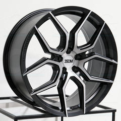 3SDM Wheels 0.50 Black Brushed