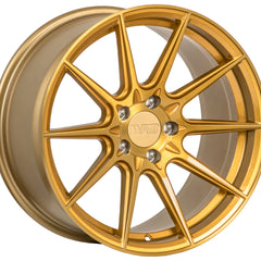 F1R Wheels F101 Brushed Gold