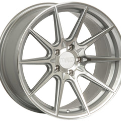 F1R Wheels F101 Machine Silver