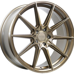 F1R Wheels F101 Machine Bronze
