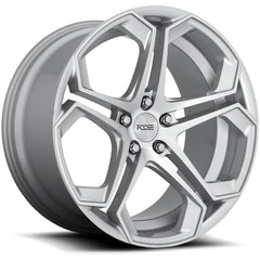 Foose Wheels F170 Impala Silver Machined