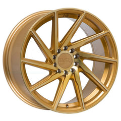 F1R Wheels F29 Machine Gold