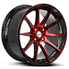 Shift Wheels H34 Gear Black Machine Red