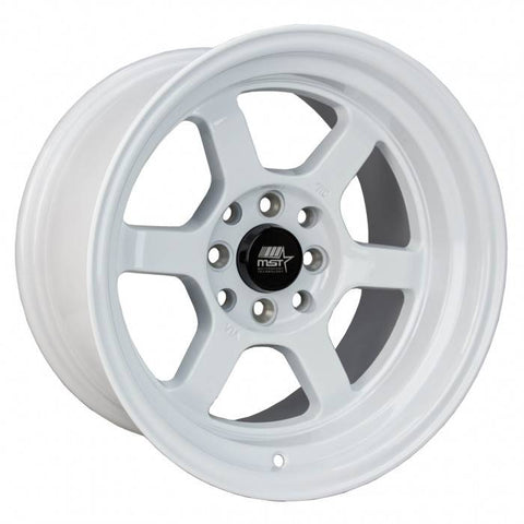 MST Wheels Time Attack White