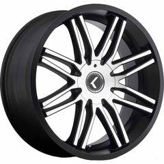 Kraze Wheels KR141 Cray Black Machined
