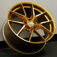 Aodhan Wheels LS007 Gold Machined Face