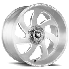 Off-Road Monster Wheels M07 Silver Brushed
