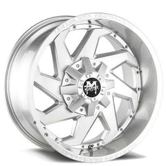 Off-Road Monster Wheels M09 Silver Brushed